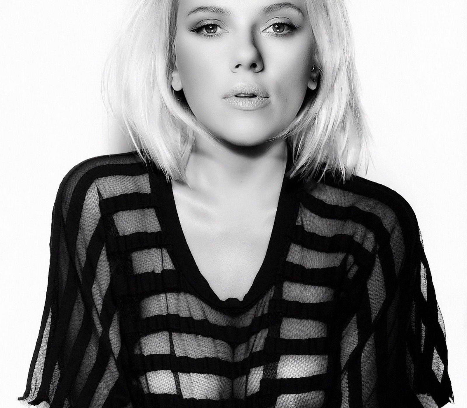 Scarlett johansson see through