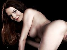 Jennifer Morrison naked doggystyle photo shoot UHQ