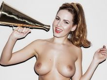 Sabine Jemeljanova topless Page 3 photo shoot 2014 May 3x HQ