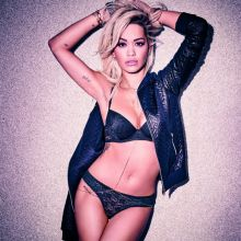 Rita Ora sexy lingerie for Tezenis HQ