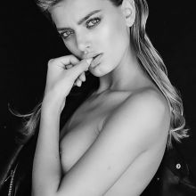Bregje Heinen topless Erez Sabag photoshoot 7x HQ photos