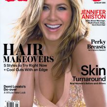 Jennifer Aniston topless Allure Magazine 2015 January 4x HQ