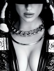 Irina Shayk topless photo shoot for 7 Hollywood magazine 2013 November 9x MQ
