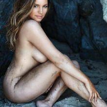 Kelly Brook nude topless bikini Official 2017 Calendar 14x MixQ photos