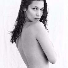 Bella Hadid topless for Flare magazine October 2016 7x HQ photos