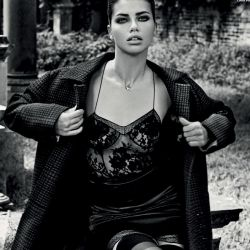 Adriana Lima sexy Vogue magazine 2013 October 12x HQ