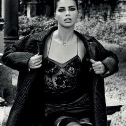 Adriana Lima sexy Vogue magazine 2013 October 12x HQ