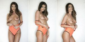 India Reynolds topless Page 3 photo shoot 2015 October 7x HQ