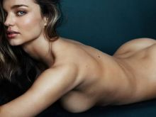Miranda Kerr nude GQ Magazine topless cover photo shoot 12x UHQ
