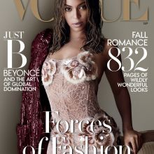 Beyonce sexy for Vogue US magazine 2015 September 5x HQ