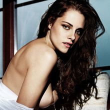 Kristen Stewart nude FHM magazine cover topless photo shoot UHQ