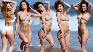 Kaili Thorne and Eryn Krouse bikini photo shoot for 138 Water in Malibu 39x UHQ