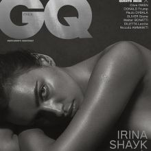 Irina Shayk nude for GQ Italia 2016 September 10x MixQ photos