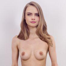 Cara Delvingne nude spread legs casting photo UHQ