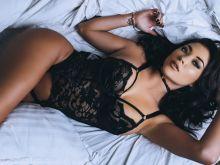 Arianny Celeste see through lingerie for Martin Murillo photo shoot