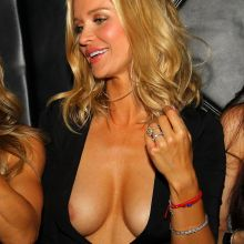 Joanna Krupa nip slip cleavage on girls night out at Mynt Lounge in Miami 39x UHQ