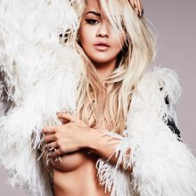 Rita Ora topless bare butt 2017 Calendar preview HQ photos