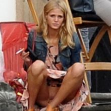 Erin Heatherton upskirt without panties 5x MQ