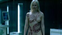 Ingrid Bolsø Berdal - Westworld S01 E10 720p nude topless scenes