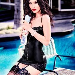 Megan Fox hot lingerie for V Magazine April 2017 4x UHQ photos