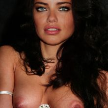 Adriana Lima nude Vogue magazine cover photo shoot UHQ