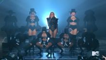 Beyonce - MTV Video Music Awards 2016 720p sexy bodysuit on stage