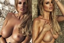 Rhian Sugden topless 2016 Calendar photo shoot 16x UHQ