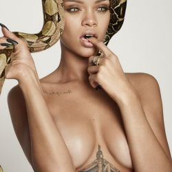 Rihanna nude for GQ UK 2013 December 9x UHQ