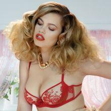 Hailey Clauson hot Agent Provocateur lingerie 2014 Spring  8x UHQ