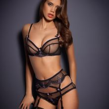 Jacqueline Oloniceva sexy see through Agent Provocateur Lingerie photo shoot 98x HQ
