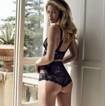 "Doutzen Kroes hot sexy see through ""Hunkemoller"" lingerie photo shoot 24x HQ photos"