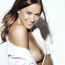 Rosie Jones topless Page 3 photo shoot 2014 July 3x UHQ