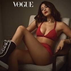 Bella Hadid sexy for Vogue magazine