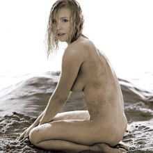 Kristen Bell nude Allure magazine 2014 May HQ