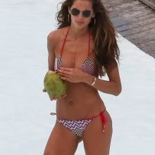 Izabel Goulart sexy bikini candids on the Fasano hotel pool in Brazil 27x HQ photos