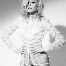 Pixie Lott in sexy lingerie Lawrence Sparkes photo shoot 8x MixQ