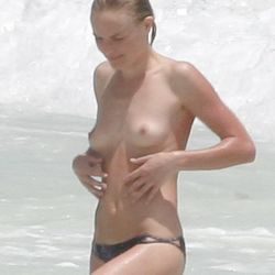 Kate Bosworth Topless Nude Naked Swimming 7x UHQ