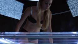 Emma Ishta - Stitchers S03 E07 1080p sexy lingerie undressing scene