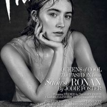 Saoirse Ronan wet dress for Interview magazine 2016 March 5x MixQ photos