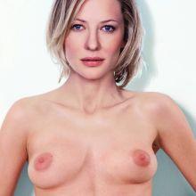 Cate Blanchett nude Vogue magazine cover photo shoot UHQ