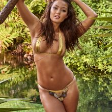 Mia Kang - Sports Illustrated Swimsuit 2017 topless bare ass see through tiny 20x HQ photos