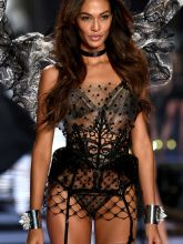 Joan Smalls sexy 2014 Victoria's Secret Fashion Show in London 14x UHQ