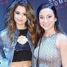 Selena Gomez nip slip on Revival Tour M&G 2x HQ photos