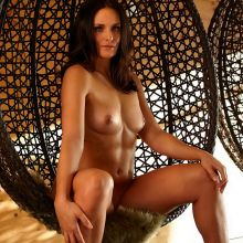 Christina Geiger nude Playboy magazine Celebrity photo shoot 13x HQ photos