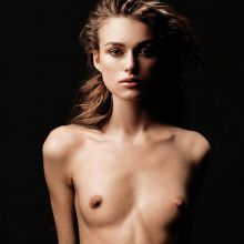 Keira Knightley nude Vogue magazine cover photoshoot UHQ