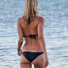 Kimberley Garner wearing sexy bikini on the beach in St Tropez 2015 August 41x HQ