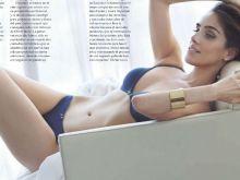 Sandra Echeverria topless GQ magzine 2014 August 8x HQ