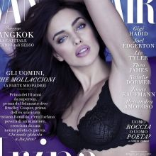 Irina Shayk in sexy lingerie for Vanity Fair 2016 March 4x UHQ photos