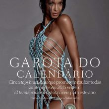 Lais Ribeiro, Thairine Garcia, Carol Trentini, Amanda Wellsh, Aline Weber - Garota do Calendario Vogue Official 2015 Calendar 12x HQ
