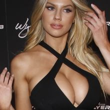 Charlotte McKinney big boobs huge cleavage Encore Player's Club Grand Opening in Las Vegas 87x UHQ photos